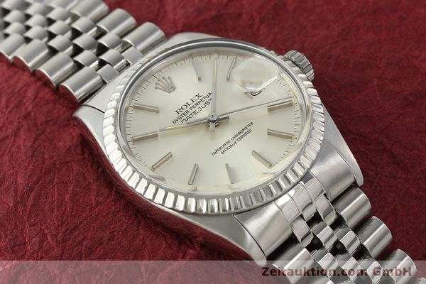 Used luxury watch Rolex Datejust steel automatic Kal. 3035 Ref. 16030  | 142727 15
