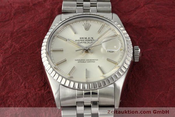 Used luxury watch Rolex Datejust steel automatic Kal. 3035 Ref. 16030  | 142727 16