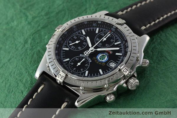 Used luxury watch Breitling Chronomat chronograph steel automatic Kal. B13 ETA 7750 Ref. A13050.1 LIMITED EDITION | 142728 01
