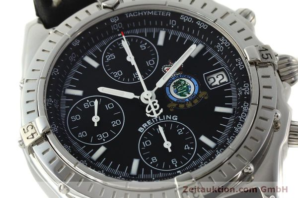Used luxury watch Breitling Chronomat chronograph steel automatic Kal. B13 ETA 7750 Ref. A13050.1 LIMITED EDITION | 142728 02