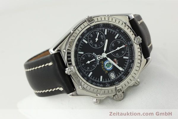 Used luxury watch Breitling Chronomat chronograph steel automatic Kal. B13 ETA 7750 Ref. A13050.1 LIMITED EDITION | 142728 03