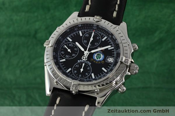 Used luxury watch Breitling Chronomat chronograph steel automatic Kal. B13 ETA 7750 Ref. A13050.1 LIMITED EDITION | 142728 04