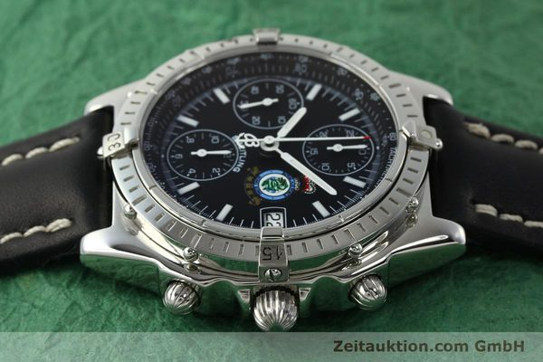 Used luxury watch Breitling Chronomat chronograph steel automatic Kal. B13 ETA 7750 Ref. A13050.1 LIMITED EDITION | 142728 05