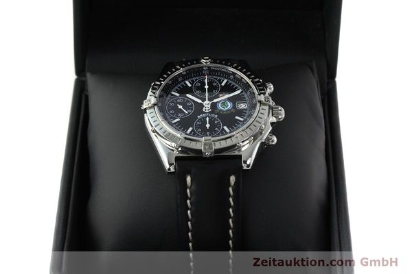 Used luxury watch Breitling Chronomat chronograph steel automatic Kal. B13 ETA 7750 Ref. A13050.1 LIMITED EDITION | 142728 07