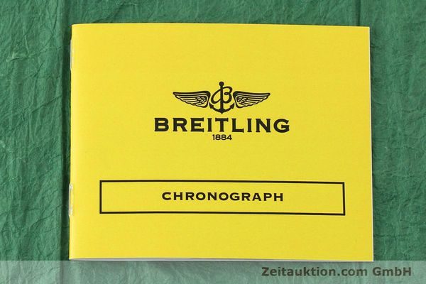 Used luxury watch Breitling Chronomat chronograph steel automatic Kal. B13 ETA 7750 Ref. A13050.1 LIMITED EDITION | 142728 12