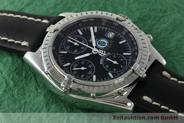Used luxury watch Breitling Chronomat chronograph steel automatic Kal. B13 ETA 7750 Ref. A13050.1 LIMITED EDITION | 142728 15