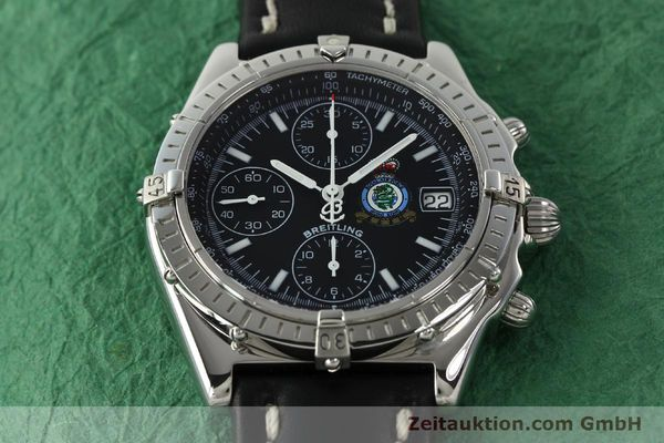 Used luxury watch Breitling Chronomat chronograph steel automatic Kal. B13 ETA 7750 Ref. A13050.1 LIMITED EDITION | 142728 16