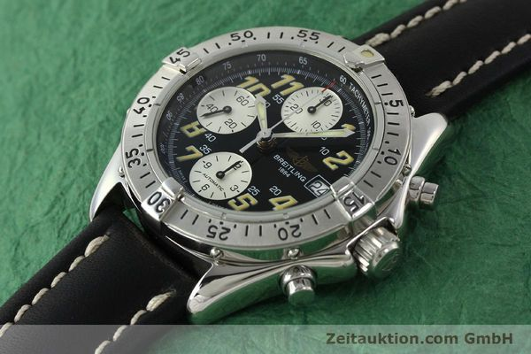Used luxury watch Breitling Colt chronograph steel automatic Kal. B13 ETA 7750 Ref. A13035.1  | 142730 01