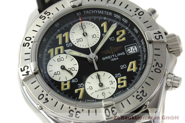 Used luxury watch Breitling Colt chronograph steel automatic Kal. B13 ETA 7750 Ref. A13035.1  | 142730 02