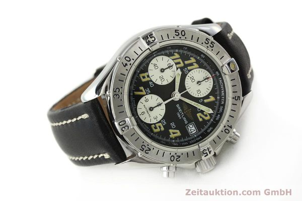 Used luxury watch Breitling Colt chronograph steel automatic Kal. B13 ETA 7750 Ref. A13035.1  | 142730 03