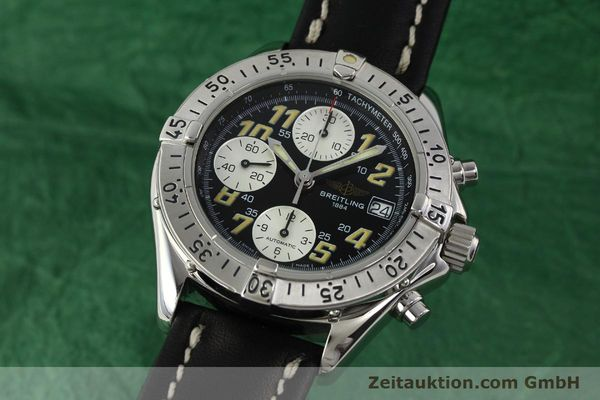 Used luxury watch Breitling Colt chronograph steel automatic Kal. B13 ETA 7750 Ref. A13035.1  | 142730 04