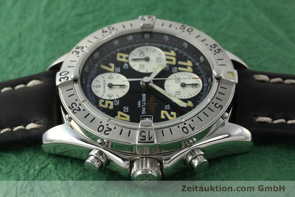 Used luxury watch Breitling Colt chronograph steel automatic Kal. B13 ETA 7750 Ref. A13035.1  | 142730 05