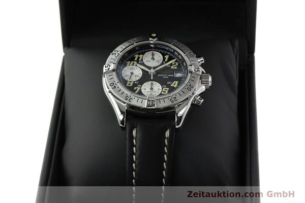 Used luxury watch Breitling Colt chronograph steel automatic Kal. B13 ETA 7750 Ref. A13035.1  | 142730 07