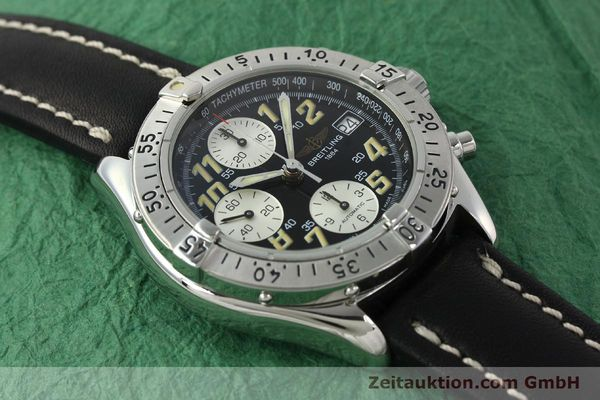 Used luxury watch Breitling Colt chronograph steel automatic Kal. B13 ETA 7750 Ref. A13035.1  | 142730 13