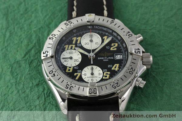Used luxury watch Breitling Colt chronograph steel automatic Kal. B13 ETA 7750 Ref. A13035.1  | 142730 14