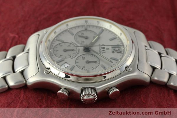 Used luxury watch Ebel 1911 chronograph steel automatic Kal. 137 Ref. E9137240  | 142731 05