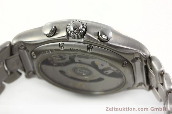 Used luxury watch Ebel 1911 chronograph steel automatic Kal. 137 Ref. E9137240  | 142731 08
