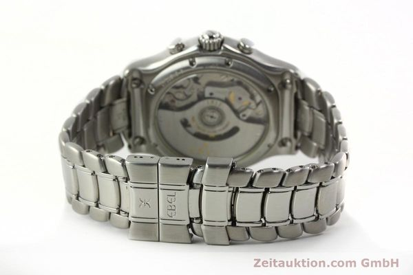 Used luxury watch Ebel 1911 chronograph steel automatic Kal. 137 Ref. E9137240  | 142731 11
