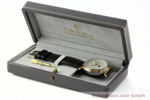 Used luxury watch Chronoswiss Kelek steel / gold automatic Kal. ETA 2892-2 Ref. 5287M-4-A-S2  | 142734 07