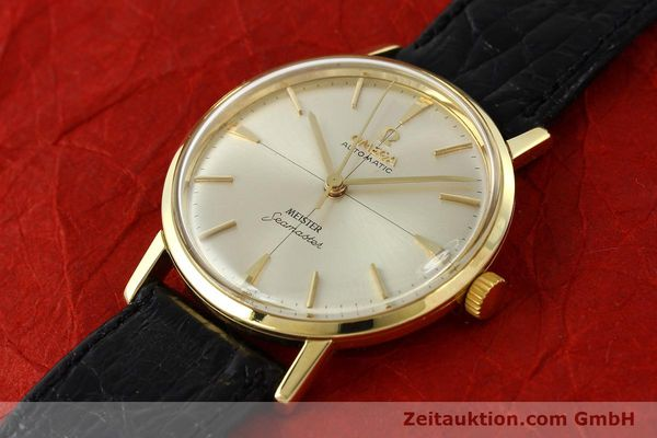 montre de luxe d occasion Omega Seamaster or 18 ct automatique Kal. 552  | 142736 01