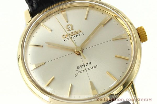 montre de luxe d occasion Omega Seamaster or 18 ct automatique Kal. 552  | 142736 02