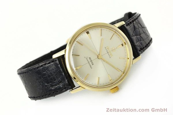 montre de luxe d occasion Omega Seamaster or 18 ct automatique Kal. 552  | 142736 03