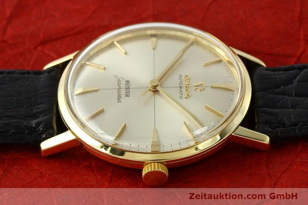 montre de luxe d occasion Omega Seamaster or 18 ct automatique Kal. 552  | 142736 05