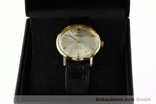montre de luxe d occasion Omega Seamaster or 18 ct automatique Kal. 552  | 142736 07
