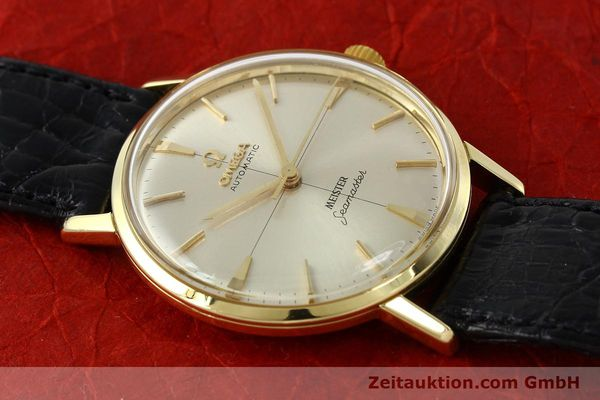 montre de luxe d occasion Omega Seamaster or 18 ct automatique Kal. 552  | 142736 14
