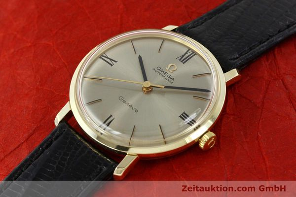 Used luxury watch Omega * 14 ct yellow gold automatic Kal. 552  | 142740 01