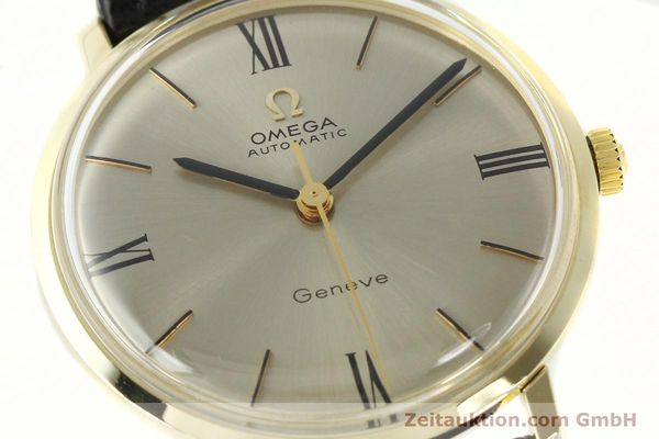 Used luxury watch Omega * 14 ct yellow gold automatic Kal. 552  | 142740 02