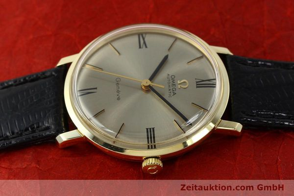 Used luxury watch Omega * 14 ct yellow gold automatic Kal. 552  | 142740 05