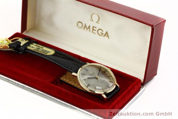Used luxury watch Omega * 14 ct yellow gold automatic Kal. 552  | 142740 07