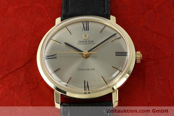 Used luxury watch Omega * 14 ct yellow gold automatic Kal. 552  | 142740 14