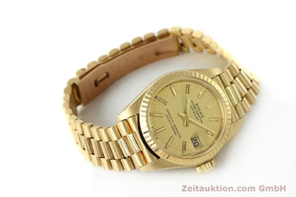 Used luxury watch Rolex Lady Datejust 18 ct gold automatic Kal. 2030 Ref. 6917  | 142742 03