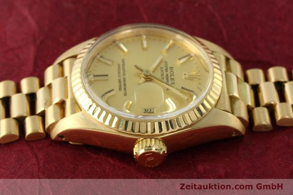 Used luxury watch Rolex Lady Datejust 18 ct gold automatic Kal. 2030 Ref. 6917  | 142742 05