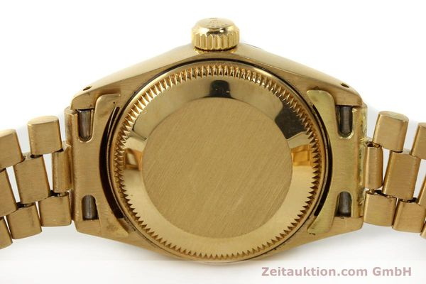 Used luxury watch Rolex Lady Datejust 18 ct gold automatic Kal. 2030 Ref. 6917  | 142742 08