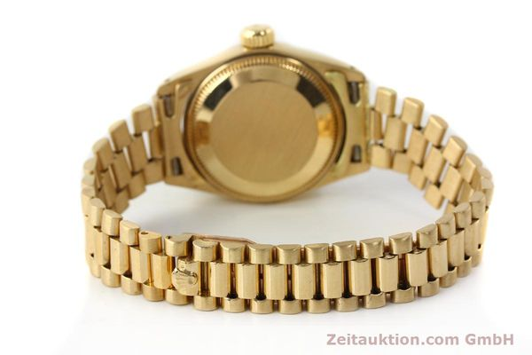 Used luxury watch Rolex Lady Datejust 18 ct gold automatic Kal. 2030 Ref. 6917  | 142742 12