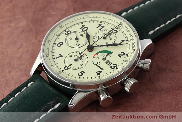 Used luxury watch Sinn 956 Ralleychronograph chronograph steel automatic Kal. ETA 7750 Ref. 956.1295  | 142743 01