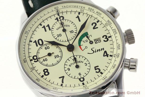 Used luxury watch Sinn 956 Ralleychronograph chronograph steel automatic Kal. ETA 7750 Ref. 956.1295  | 142743 02