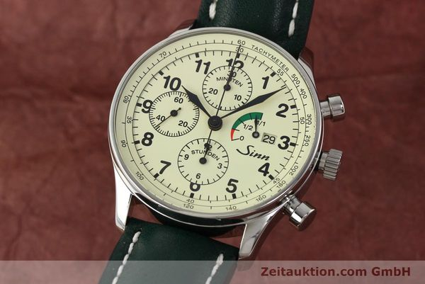 Used luxury watch Sinn 956 Ralleychronograph chronograph steel automatic Kal. ETA 7750 Ref. 956.1295  | 142743 04