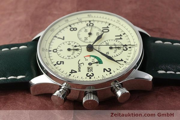 Used luxury watch Sinn 956 Ralleychronograph chronograph steel automatic Kal. ETA 7750 Ref. 956.1295  | 142743 05