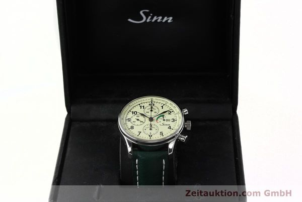 Used luxury watch Sinn 956 Ralleychronograph chronograph steel automatic Kal. ETA 7750 Ref. 956.1295  | 142743 07