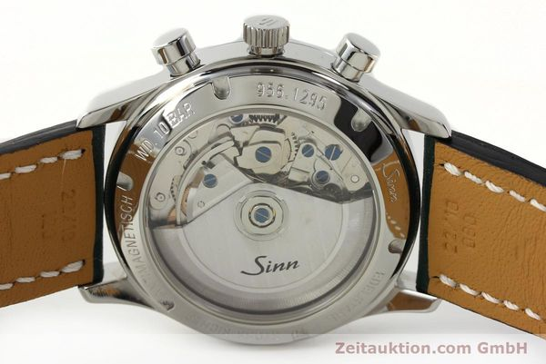 Used luxury watch Sinn 956 Ralleychronograph chronograph steel automatic Kal. ETA 7750 Ref. 956.1295  | 142743 09