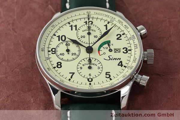 Used luxury watch Sinn 956 Ralleychronograph chronograph steel automatic Kal. ETA 7750 Ref. 956.1295  | 142743 15