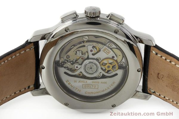 Used luxury watch Zenith Elprimero chronograph steel automatic Kal. 410 Ref. 01 0240 410  | 142744 09