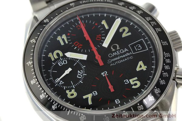 Used luxury watch Omega Speedmaster Date chronograph steel automatic Kal. 1152  | 142745 02