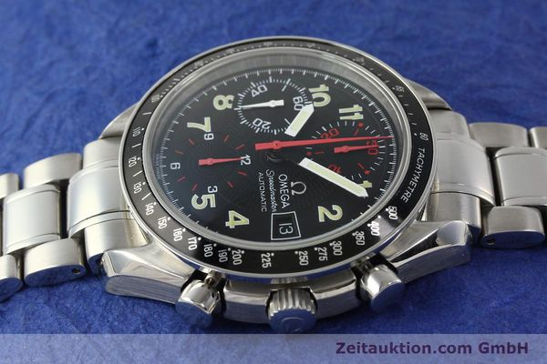 Used luxury watch Omega Speedmaster Date chronograph steel automatic Kal. 1152  | 142745 05