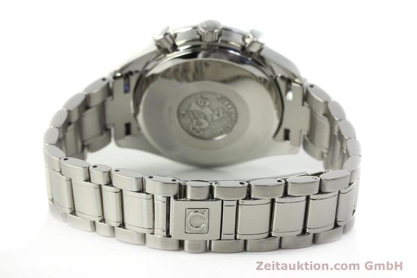 Used luxury watch Omega Speedmaster Date chronograph steel automatic Kal. 1152  | 142745 12