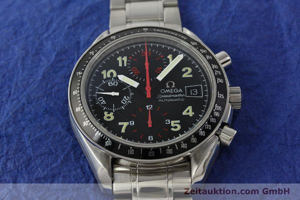 Used luxury watch Omega Speedmaster Date chronograph steel automatic Kal. 1152  | 142745 16